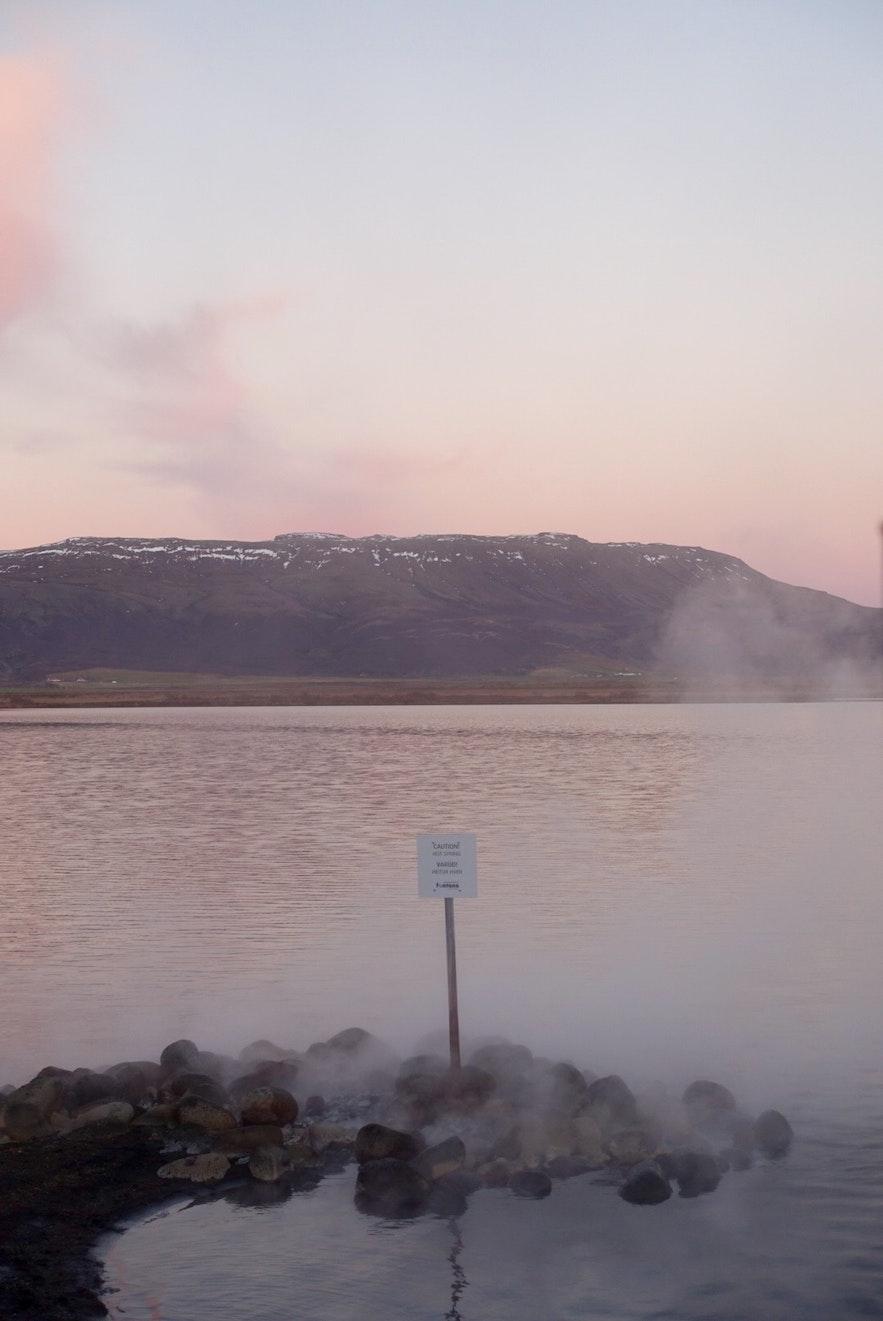 冰岛黄金圈沿线Fontana地热温泉