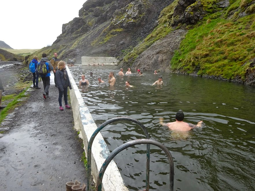 アイスランド最古の温泉