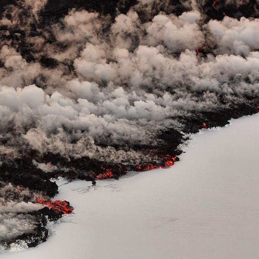 Eruption volcanique à Bardarbunga, Holuhraun