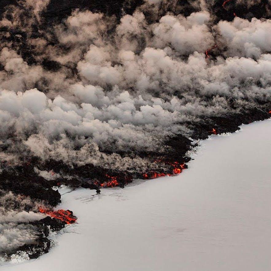 Vulkanutbrott i Bárðarbunga, Holuhraun