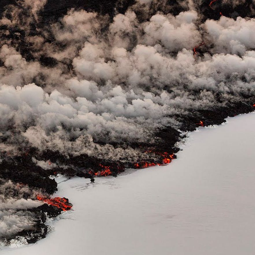 Volcanic eruption in Bardarbunga, Holuhraun
