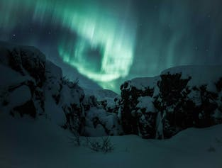 Private Northern lights & Glacier hike - 1 price for up to 6 participants