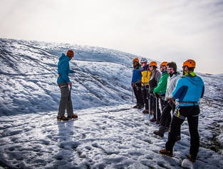 Glacier Hiking & Ice Climbing | Only 4 Persons per Tour | Easy Difficulty