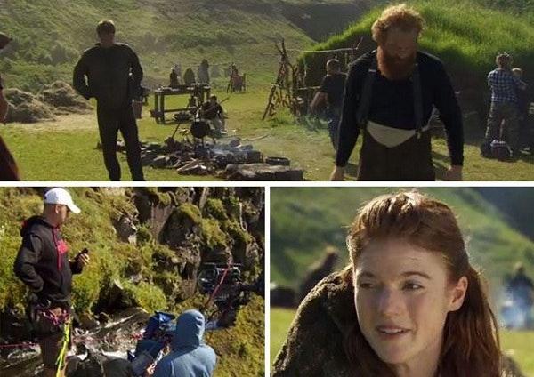 冰与火之歌:权利的游戏冰岛取景