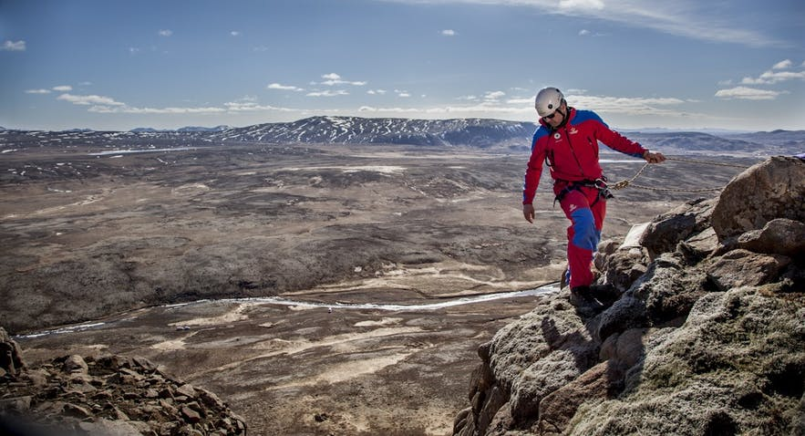 Image from Landsbjörg, Icelandic search and rescue team