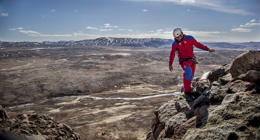 写真 アイスランドのレスキュー隊ICESAR