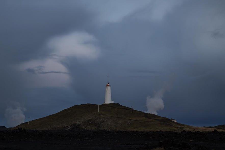 Leuchtturm Reykjanesvíti