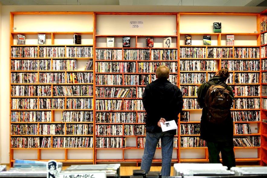 冰岛雷克雅未克唱片店Lucky Records