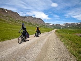 Around Patreksfjörður - biking