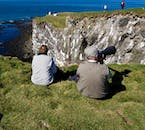 Látrabjarg is a birdwatching cliff in Iceland, where hours can be spent.