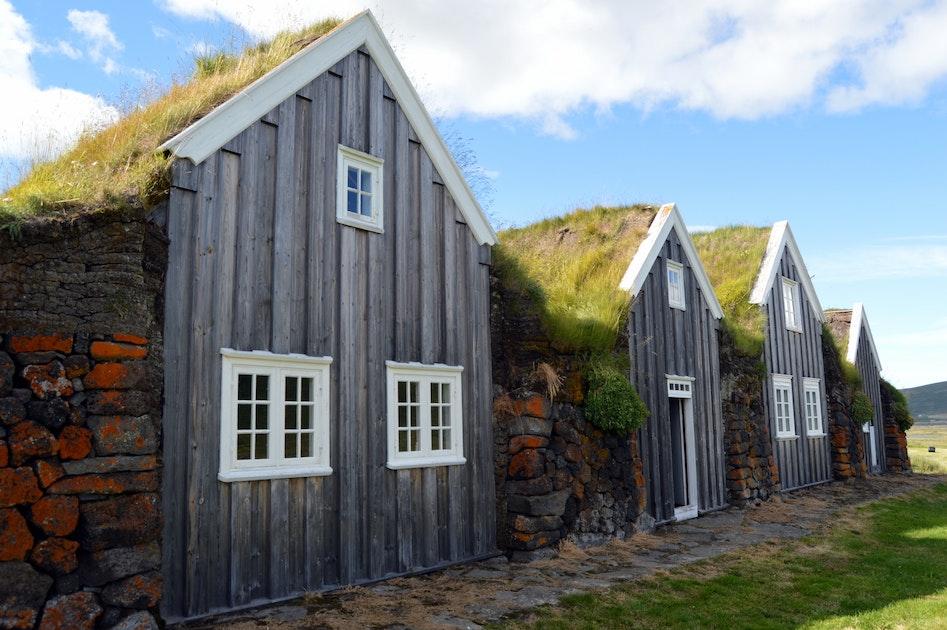 Thvera Turf House on Icelandic Turf House