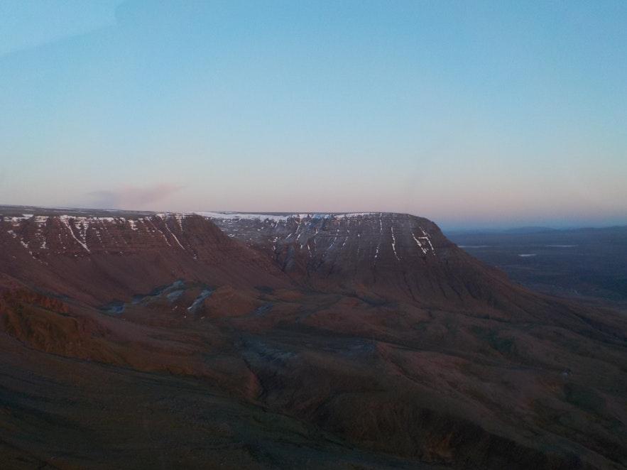 The view of Esjan