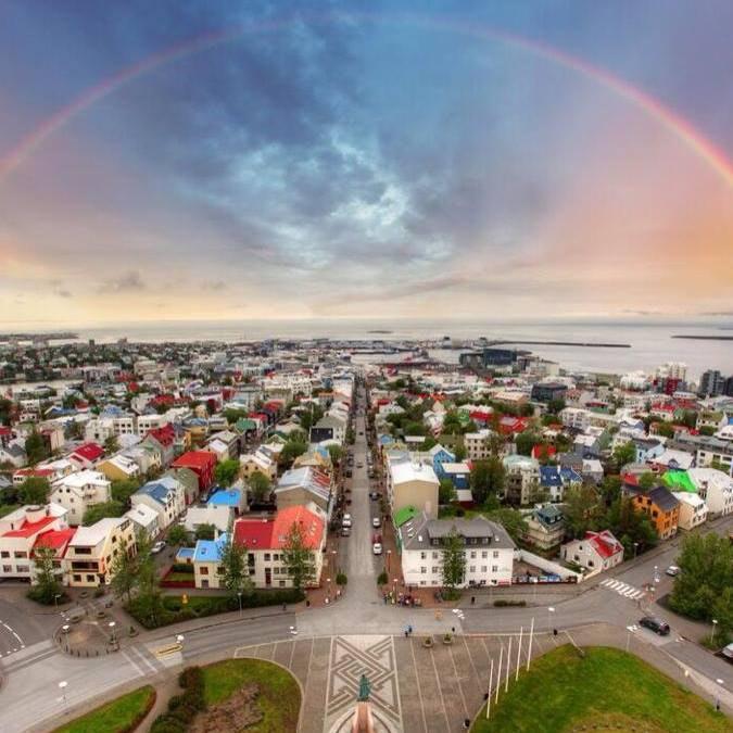 Reykjavík, capital city of Iceland