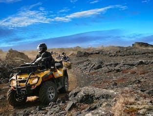 Trip to the Moon | ATV Tour on the Reykjanes Peninsula