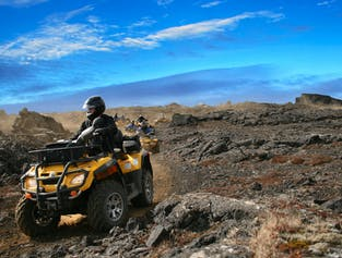 Trip to the Moon | ATV Tour on the Reykjanes Peninsula