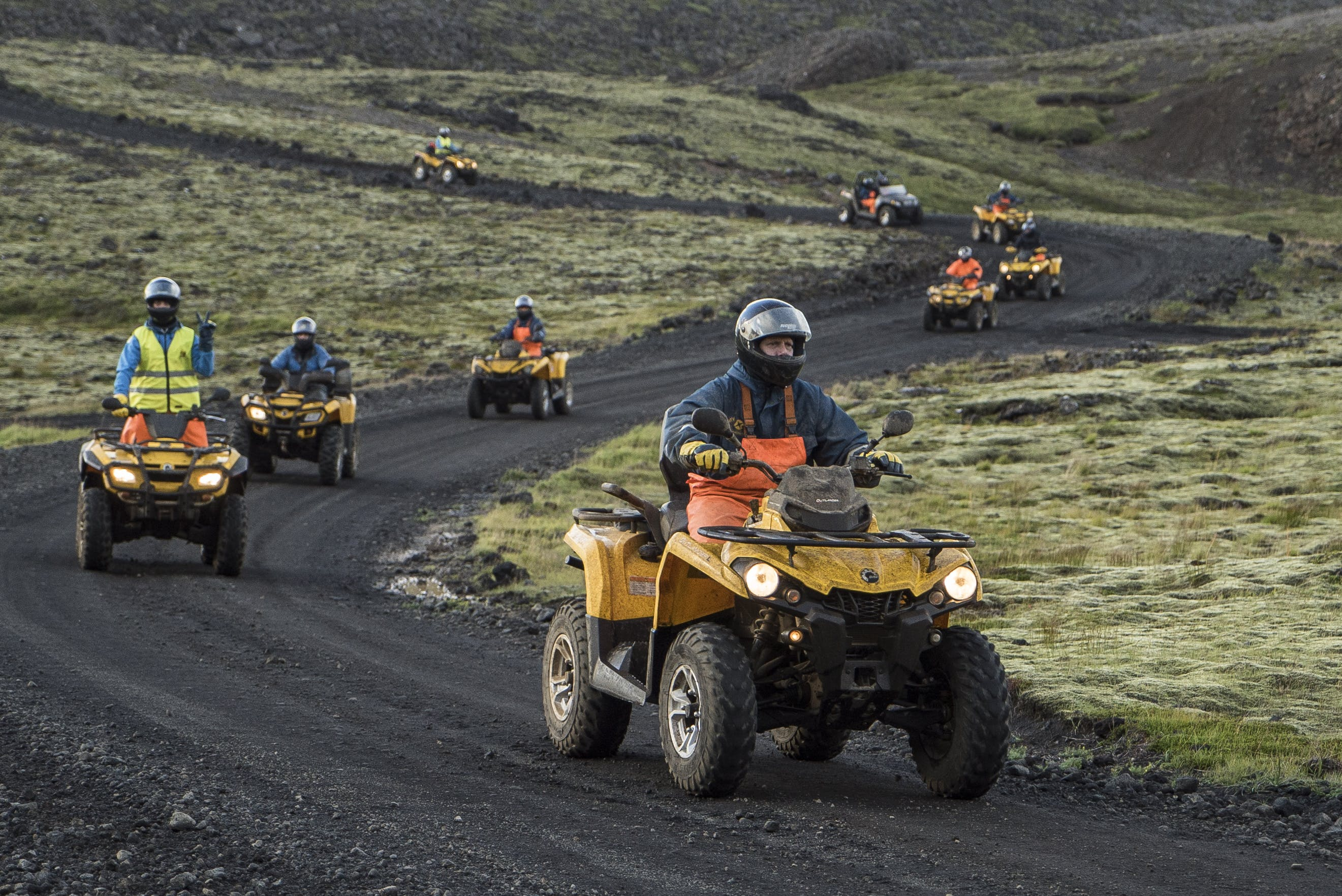 2 day Volcano Garden Expedition ATV / Quad tour
