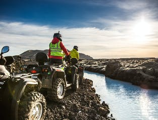 ATV & Quad Bike Combo Tour to the Blue Lagoon