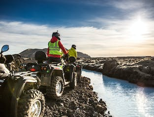 ATV & Quad Bike Tour to the Blue Lagoon