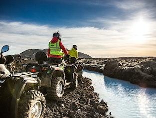 ATV & Quad Bike Combo Tour to the Blue Lagoon