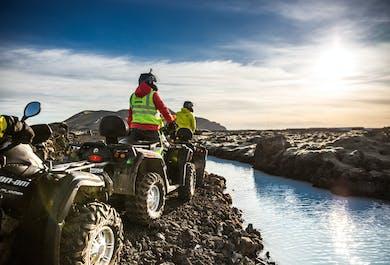ATV Tour and Blue Lagoon   Reykjanes Peninsula Day Tour