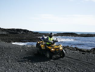 Lava Beach 2 Hour ATV Tour