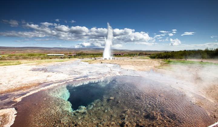 Den Gyldne Cirkel og Kerið-krateret | Klassisk tur med ekstra indslag