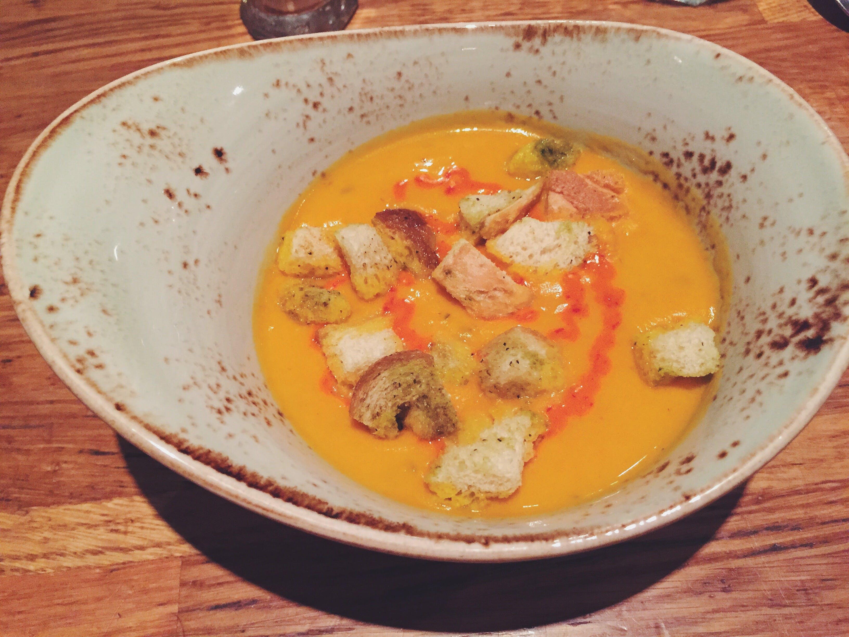 冰岛首都雷克雅未克超值餐厅Vegamót每日例汤