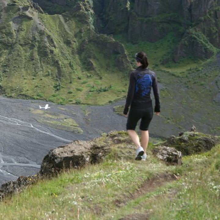 The stunning and enormous landscape of Þórsmörk valley.