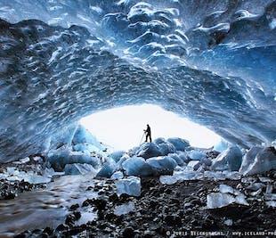 3-dages tur til Den Gyldne Cirkel og sydkysten | Nordlys, isgrotte og gletsjervandring