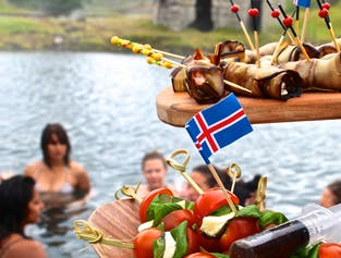 Luxury Golden Circle day tour | With Secret Lagoon and gourmet food