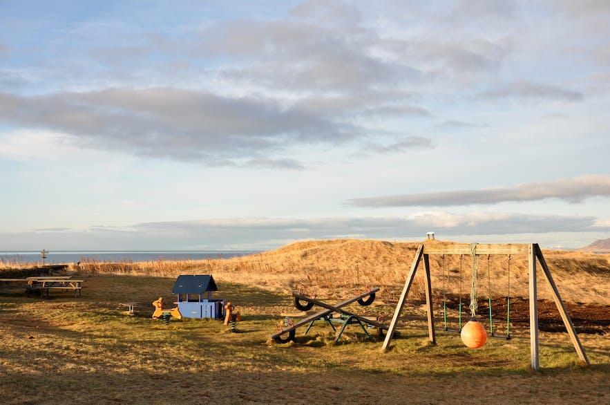 冰岛雷克雅未克对面的Videy岛