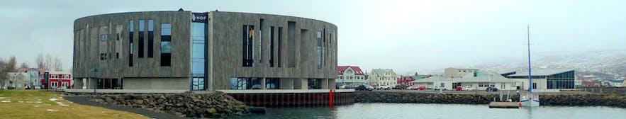 冰岛北部之都阿克雷里的文化中心Hof