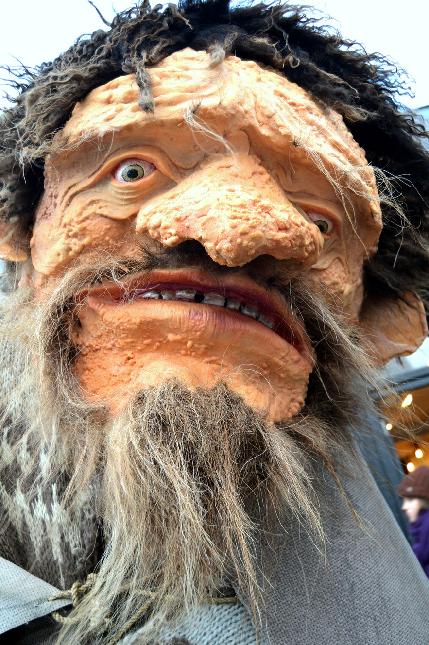 Leppalúði, the father of the Yule Lads