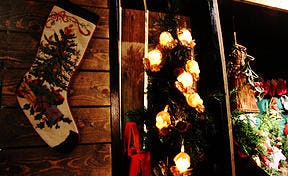 The holidays in Iceland are characterized by plentiful Christmas decorations that light up the dark winter.