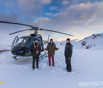 Hélicoptère entre feu et glace | Sortie depuis Reykjavik