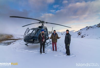 Fire & Ice | Helicopter Tour
