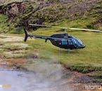 Un tour en hélicoptère signifie que vous êtes suffisamment mobile pour atterrir dans des endroits inaccessibles.