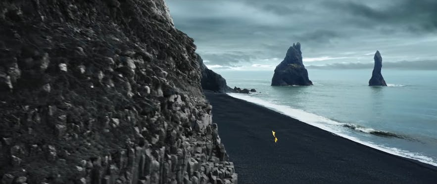 Dilwale shot at Reynisfjara in Iceland