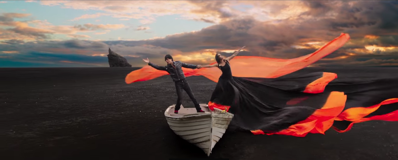 Filming Locations of Gerua in Iceland from the Bollywood Movie Dilwale