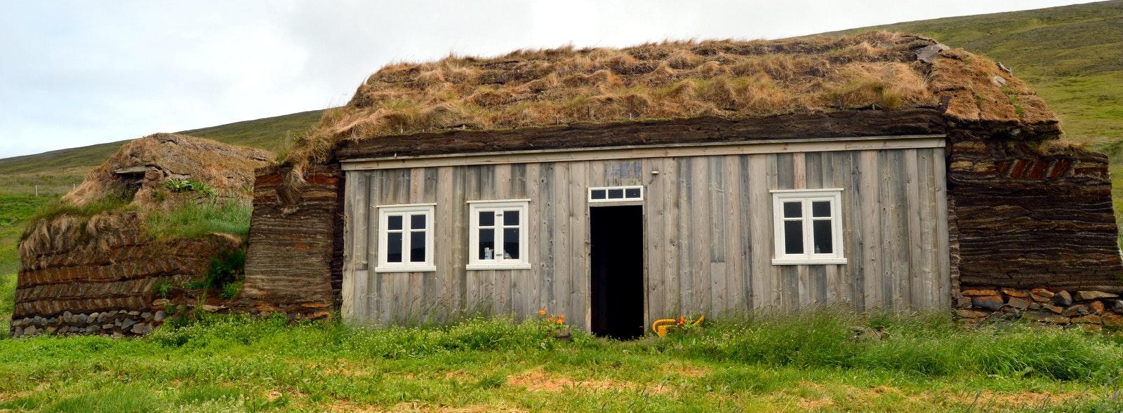 Tyrfingsstaðir Turf House in North-Iceland