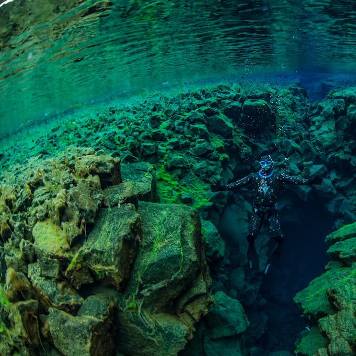 史费拉(Silfra)自由潜水团|湿潜水衣