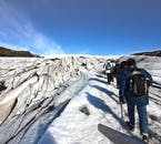 Glacier hiking is one of the most exhilarating experiences available in Iceland.