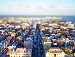 Best Value flight tour around Reykjavík and surroundings.
