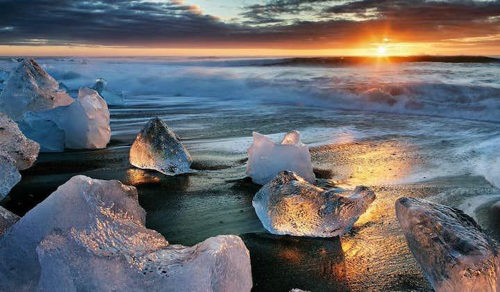 6-dniowy pakiet wakacyjny organizowany latem na Islandii wraz z laguną lodowcową Jokulsarlon
