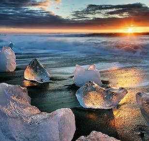 6-tägiges Sommer-Reisepaket   Gletscherlagune Jökulsarlon & Snaefellsnes-Option
