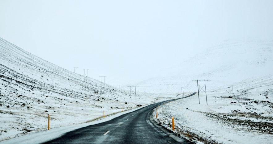 冬季冰岛自驾