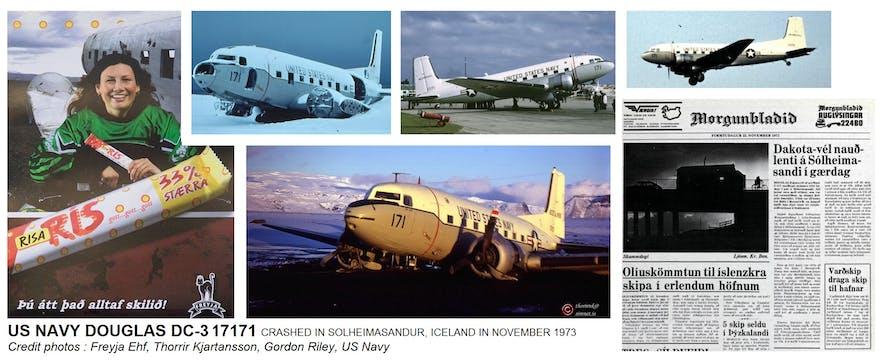 A Solheimasandur, le crash le plus célèbre d'Islande