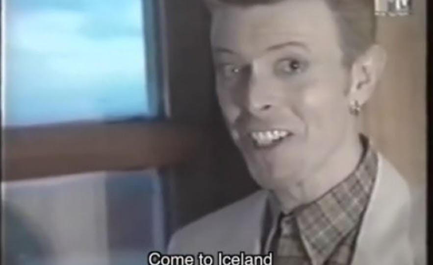 David Bowie in Iceland