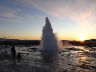 Hot springs with national park Þingvellir. Personal Tour with 4X4 jeep