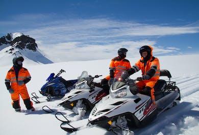 1-Hour Snowmobile Tour on Langjokull Glacier | From Gullfoss Waterfall